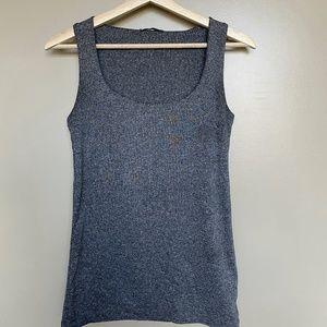 ZARA | Basic Grey Top